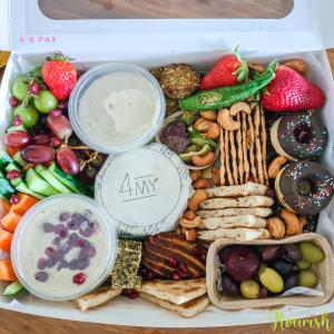 vegan platter nourish small