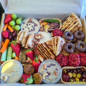 vegan platter nourish
