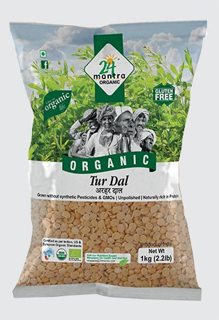 Tur Dal Organic 24 mantra