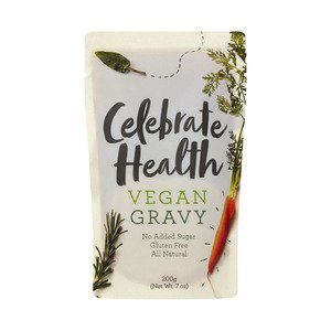 vegan gravy celebrate health