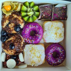 dessert platter vegan